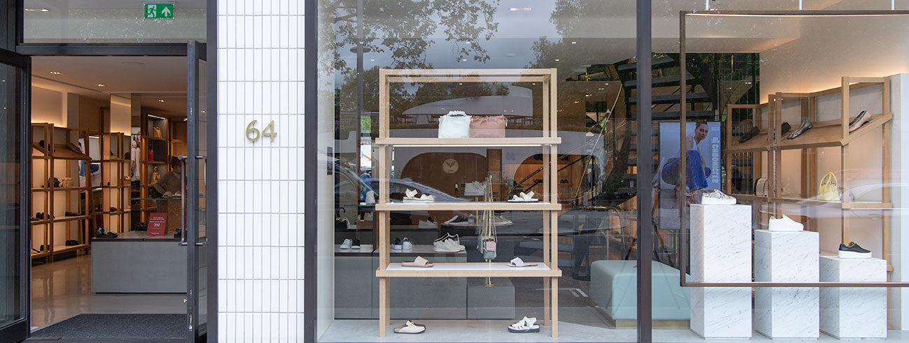 Russell & Bromley Store Front